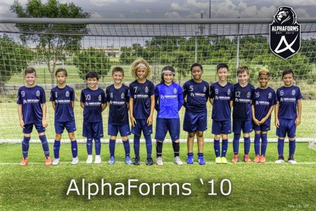Forms Academy AlphaForms 2010B